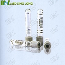 safety vacuum blood collection tube with blood needles and other equipment