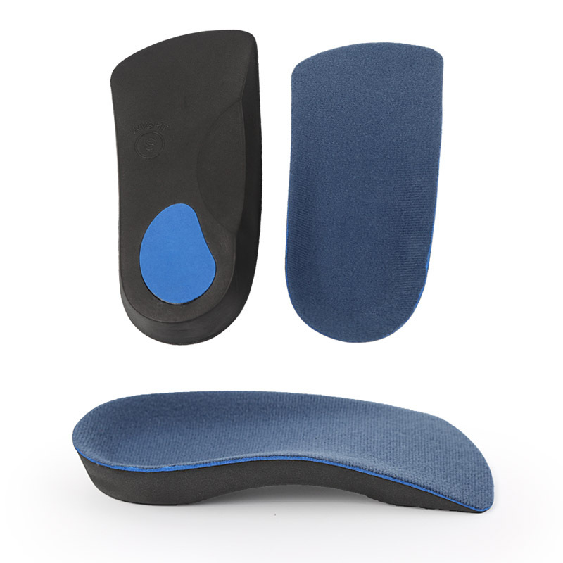 3/4 Length  EVA Hard Plastic  High Quality  Arch Support All Sizes For Flat Feet Orthopedic Foot Shoe Insoles