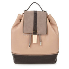 made in china HD21-009 leather backpack ladies inspired bag