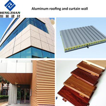 1100 aluminium corrugated roofing sheets coated aluminum coil sheet metal plate