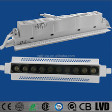2016 laser blade Rectangular trimless recessed led downlight 21W project downlight meeting room / shopping mall/office