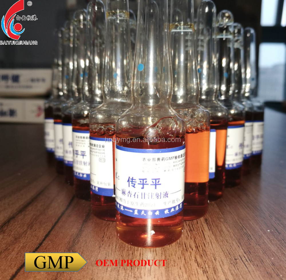 Maxing Shigan injection veterinary medicine pure Chinese medicine with GMP certificate