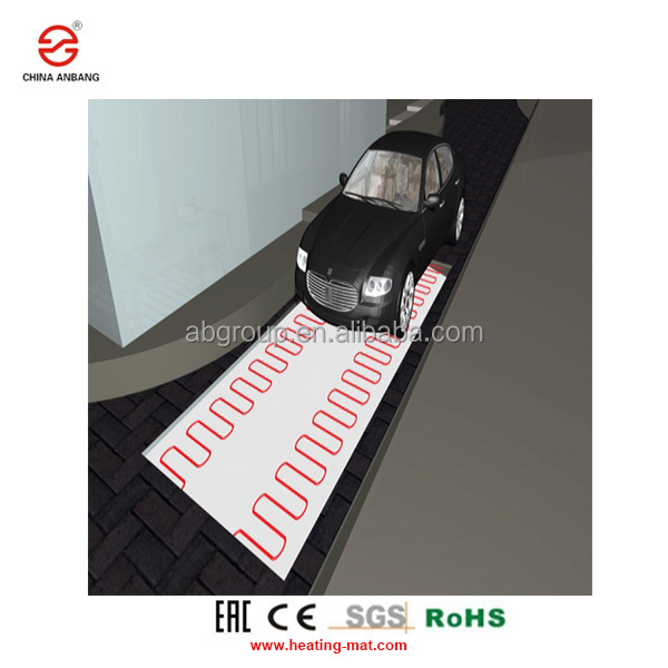 Electric Energy Saving Infrared Floor Heating Mat 120W/M2 Outdoor Snow Melting Heat Mats
