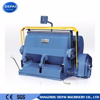 No.1 quality paper die cutting and creasing machine