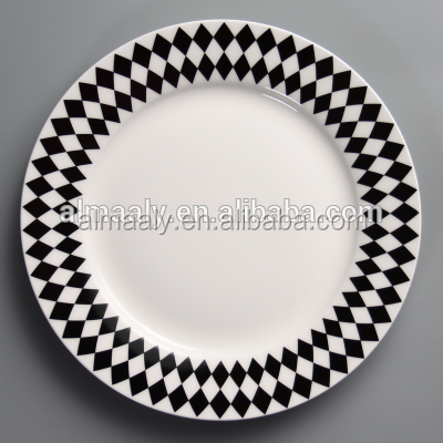 Turkish popular hot sell dinner plate charger plate homeware