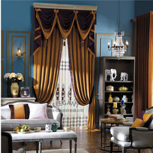 Bulk wholesale Hot sale luxury type polyester material cafe curtain