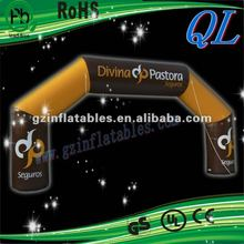 2012 {QiLing} decorative inflatable arch door advertising