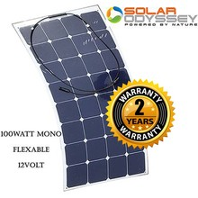 Sunpower 100 Watt 12 Volt Flexible Solar Panel