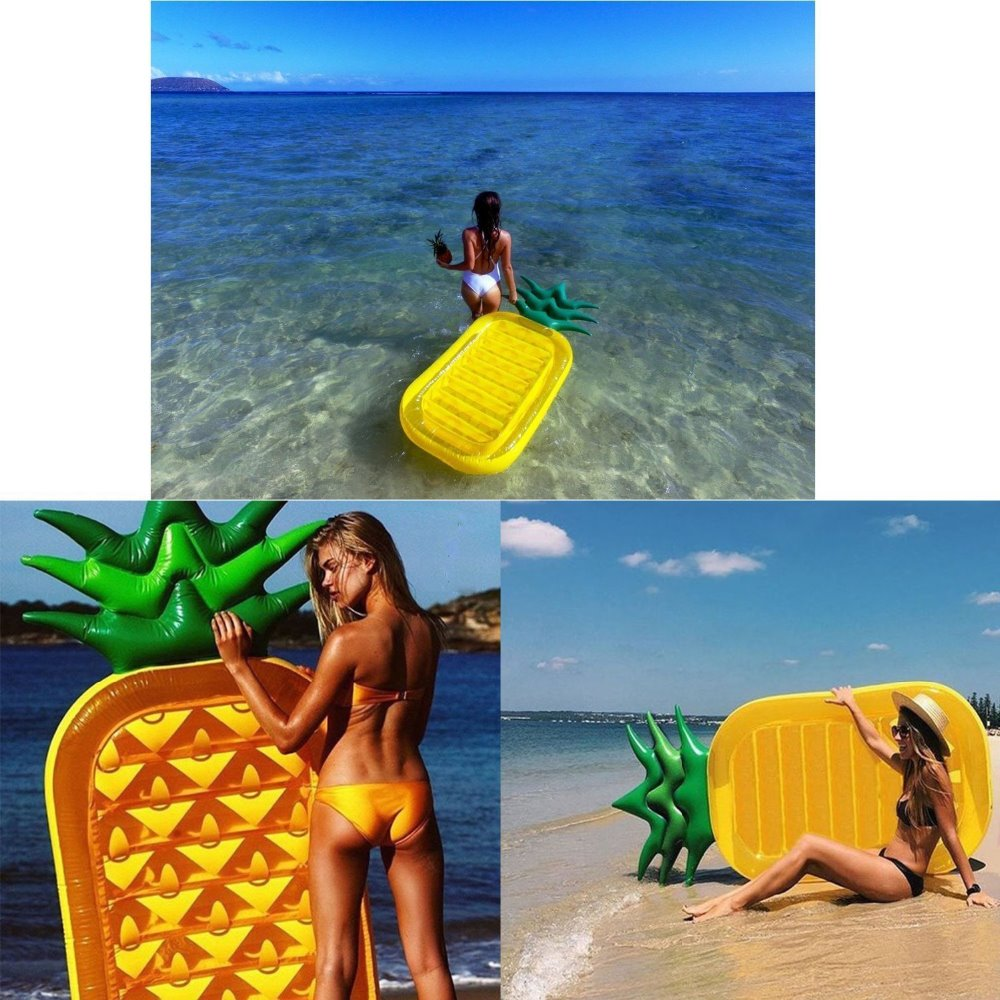 2017 NEW ARRIVAL pineapple giant swan pool float