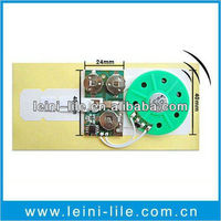 Sound ic chip for greeting card