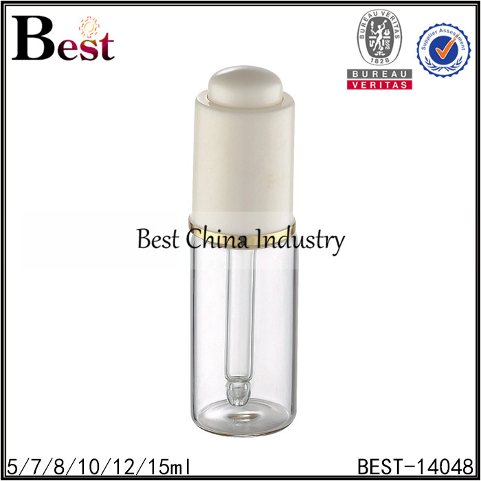 liquid empty bottle 5ml 7ml 8ml 10ml 12ml 15ml glass dropper bottle