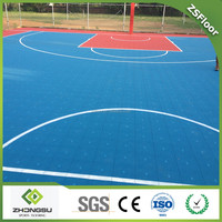 waterproof portable basketball court sports flooring