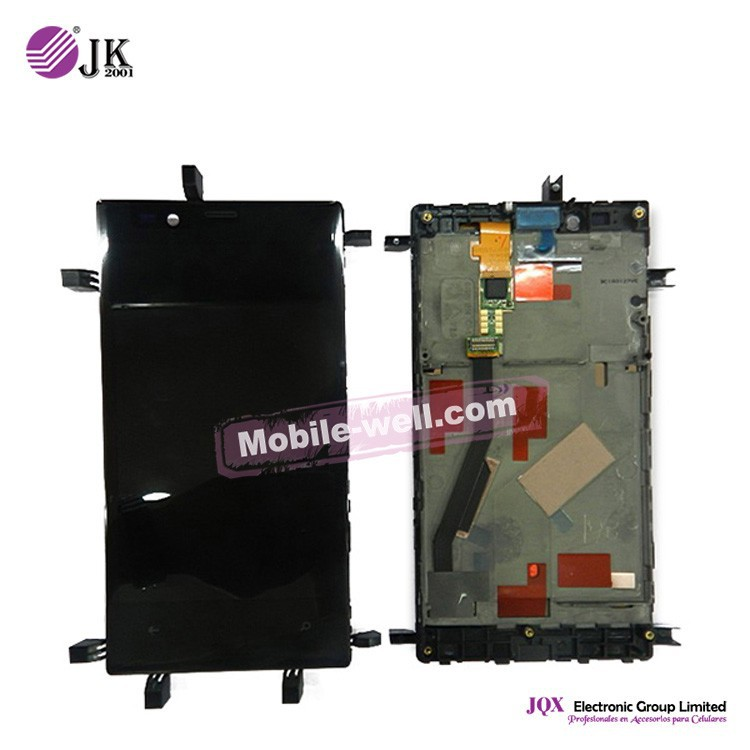 [JQX] LCD for Nokia Lumia 720 LCD Screen with Touch Screen Digitizer+Frame Assembly