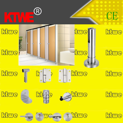 304 Stainless Steel Toilet Cubicle Partition Accessories