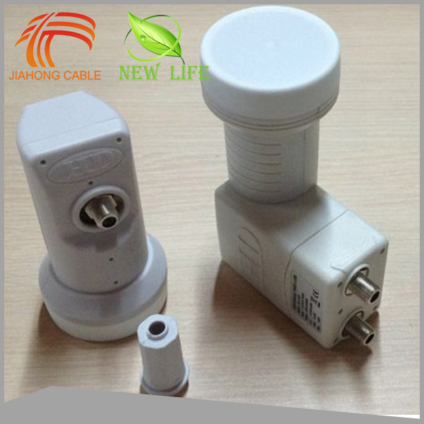 High Gain Universal Twin LNB / LNBF Low Loss With Satellite Dish