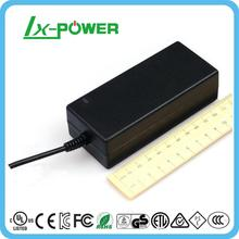 AC to DC adapter 12V4A switching power supply with CE UL PSE FCC ROHS SAA BS certification