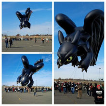 How to train a dragon giant inflatable toothless