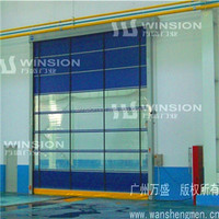 Remote contol high speed folding door automatic Aluminum sliding door