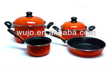 Non-stick Porcelain Enamel cookware set