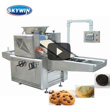 SK 400 Automatic New Tray Type Rotary Moulder Small Cookie Biscuit Making Machine Price for Soft Biscuit Forming
