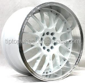 used rims for sale for cars 17x9.0 White machine face hot wheels for Japan car alloy wheel