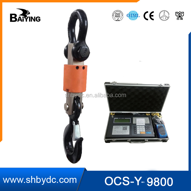 Baiying OCS wireless crane scale 5T with printing function