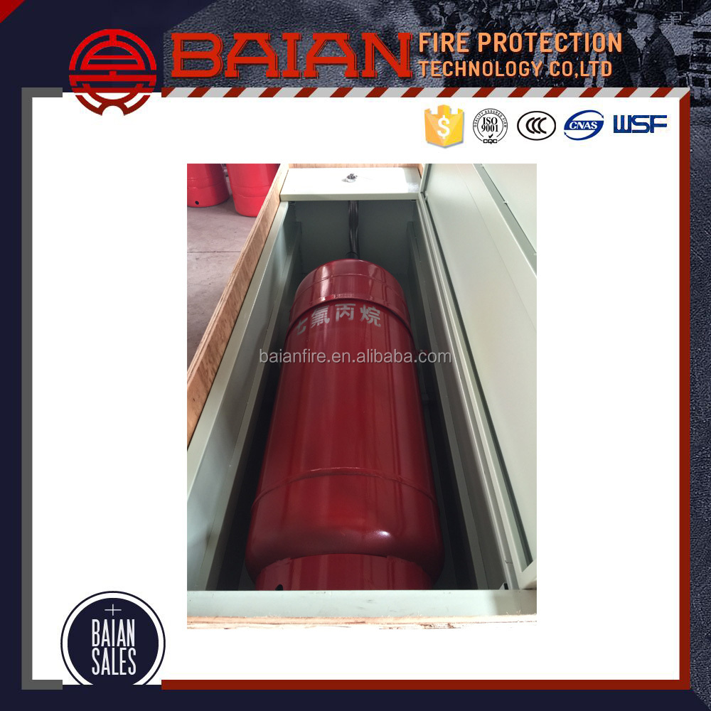 Automatic extinguisher equipment for fire protection system