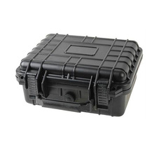 Outdoor carrying waterproof hard game console storage plastic equipment case
