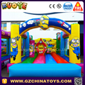 2017 commercial inflatable minion bounce house make in china