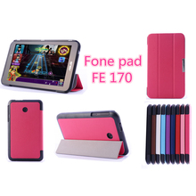 Ultra-thin Leather Case Stand Cover For 7inch ASUS FonePad 7 FE170CG Tablet PC