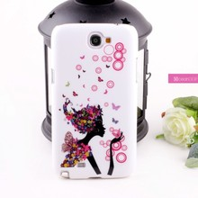 new product IMD phone case for Galaxy note 2 China alibaba