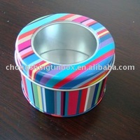 Round Decorative Innovative Metal Gift Tin