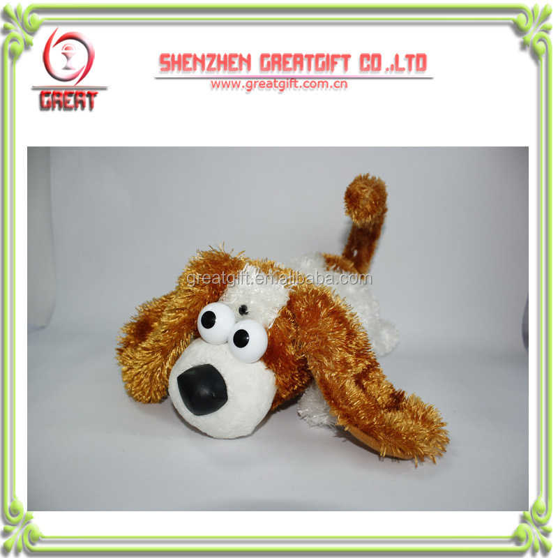 custom laughing rolling sheepdog plush toy,OEM stuffed toy,custom plush toys,