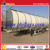 Factory direct sale Tri axle 40000L 45000L 50000L diesel oil fuel tanker tank semi trailer