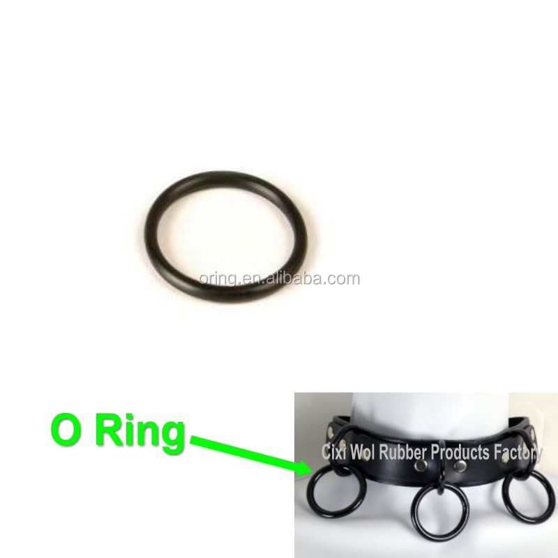 Colored Silicone Rubber O Ring For Jewelry