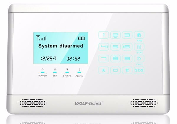 Alarm host system with LCD and touchkeypad YL-007M2BX GSM alarm host