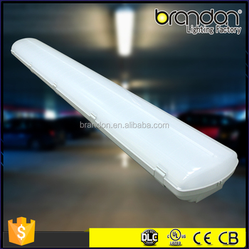 6000K Parking Garage Lighting high quality PC Cover Material G13 T5 tube UL IP65 Led Tri-proof Light