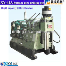 High Performance Diamond Core Drilling Rig XY-42A