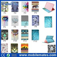 Wholesale for iPad Mini Case for iPad2/3/4/5, Newest 2015 Tribal Stand Flip Cover for iPad Mini 4