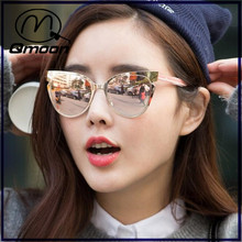 2016 the newest cat eyes sunglasses,fashion Trend lens pattern sunglasses
