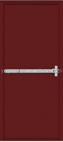 residential/ school/hotel fire rated double doors push bar