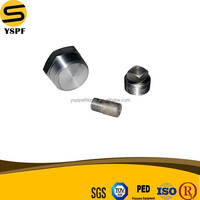 astm a105 carbon steel pipe plug round head / hex head / square head manufacture ansi standard b16.11