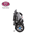 Foldable wheelchair electric scooter with removable battery made in china