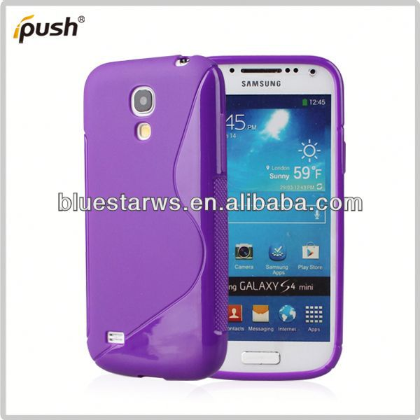 top quality for samsung s4 mini soft tpu case transparent soft tpu cover case s4 mini