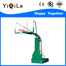 Movable height adjustable outdoor&indoor basketball stand
