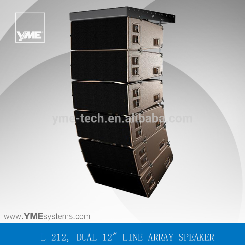 l acoustics speakers 2x12inch passive line array