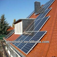 2000w 500 to 5000W for all family solar energy system