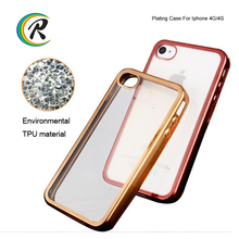 Fashion for iphone case dropship for apple iPhone 4 cover shell Electroplating