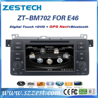 ZESTECH touch screen dvd 2 din car radio for bmw e46/car multimedia for bmw e46 m3