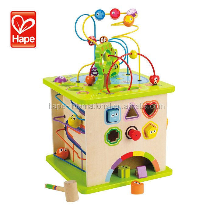Kids imported wooden toys for practicing use descriptive words